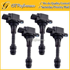 OEM Quality Ignition Coil 4PCS Pack for 04-07 Nissan Armada Titan/ QX56 5.6L V8