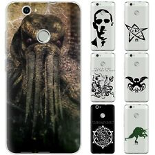 Dessana Mystical Kraken Silicone Protection Cover Case Phone For Huawei