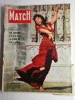 N1435 Magazine Paris-Match N°377 30 juin 1956 la Esmeralda, drame la cour de Hol