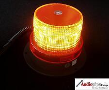 Gelbe LED Rundumleuchte Warnleuchte Blitzleuchte + Magnetfuss 12V Zigarettenanzü