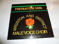 WIGSTON & DISTRICT MALE VOICE CHOIR - Portraits in Song - UK Vinyl LP