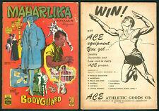 1965 Philippines MAHARLIKA KOMIKS MAGASIN Mister Bodyguard COMICS # 129