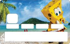 Stickers Autocollant Carte bancaire - Skin - CB Bob l'éponge 1149 1149