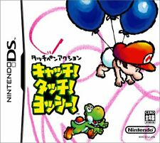 USED Game Nintendo DS catch! Touch! Yoshi!