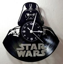 OROLOGIO DA PARETE LP 33 GIRI - DISCO IN VINILE - STAR WARS DARTH VADER