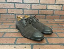 Cole Haan Brown Suede Oxfords Cap Toe Size 10