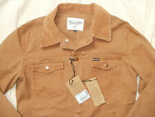 Wrangler Tan canvas Bluebell workwear western trucker jacket,size L,42
