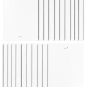 """Vertical Blind Slats Vanes Replacement Blinds for House Kitchen 82.5"""" White FREE"""
