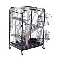 Living Room Series 4 Level Ferret Cage Chinchilla Guinea Pig Rat Indoor Hutch
