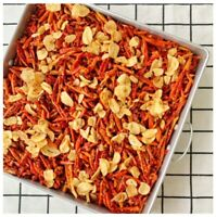 Crispy Chilli Sesame Garlic Fried Roasted Thai Snacks Savory Spicy Hot 180 g.