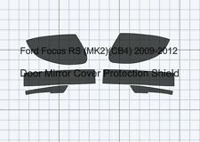 Ford Focus RS (MK2)(CB4) Door Mirror CLEAR Stone chip Protection Decal Foil