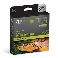 RIO INTOUCH IN TOUCH FRESHWATER OUTBOUND SHORT 265 GR WF-7-F/I SINK TIP FLY LINE