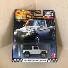 Hot Wheels Boulevard 1991 Mercedes-Benz G-Class #15 Real Riders N12