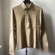 Très cool PRADA Manches Longues Polo Shirt Sz S Made in Italy