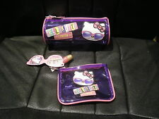 M&S - HELLO KITTY LONDON - COSMETIC PURSE PENCIL CASE + COIN PURSE - BNWT