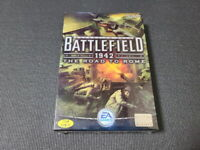 Battlefield 1942 The Road to Rome PC Game Blizzard Korean Version Factory Sealed