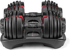 New Bowflex SelectTech 552 Adjustable Dumbbells (Pair) Set Of 2 Dumbbell Weights