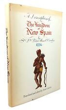 A Description of the Kingdom of New Spain - SIGNED by Sen Ralph Yarborough