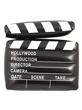 Inflatable Clapper Board Film Set Movie Director Hollywood Camera Blow Up Party