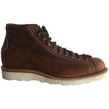 Chippewa 6'' Lace Toe Wedge Leather Casual Wedge Work Mens Boots