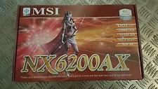 MSI nx6200ax-td128lf carte graphique NEUF