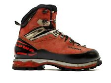 Lowa Mens Mountain Expert GTX Evo Red Mountaineering Hiking Boots Size 12