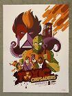 The Toxic Crusaders Avenger Cartoon Tv Show Art Print Poster Mondo Tom Whalen