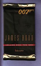 James Bond 007 Trading Card Pack 1960's Sean Connery Vol 1 Inkworks!