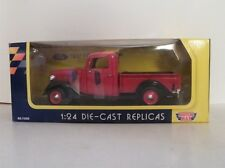 Motor Max 1:24 Collectors Edition 1937 Ford Pickup Diecast Metal