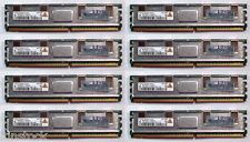 8 x HP Original 1Gb PC2-5300F DDR2 SDRAM DIMM ECC  DL360 G6 DL380 G5 398706-051
