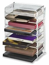 byAlegory Acrylic Palette Organizer with 8 Individual Removable Spaces, Clear