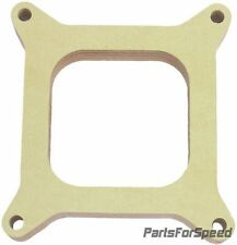 "AED 6150 Holley Birchwood 1/2"" Open 4150 Carburetor Spacer Square Bore"