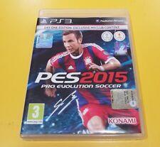 PES 2015 Pro Evolution Soccer GIOCO PS3 VERSIONE ITALIANA