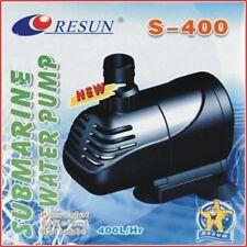 RESUN  S-400  Pumpe Tauchpumpe Aquariumpumpe  4Watt 400 L/H  max. H 70cm