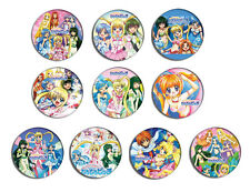 Mermaid Melody Pichi Pichi Pitch Anime Pin Pinback Button Badge Set 1a 10 badges