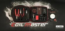 Authentic Coil Master DIY V2 KIT TOOL SET Coil Jig ohm Meter Ceramic Tweezer
