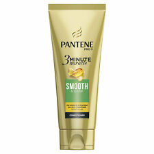 Pantene PRO-V 3 Minute Miracle SMOOTH& SLEEK Conditioner Frizzy, Dull Hair 200ml