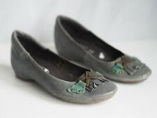 Moshulu Shoes 4 Green Leather