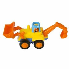 Best Choice Products Push and Go Friction Powered Car Toys,Tractor, Bull Dozer t