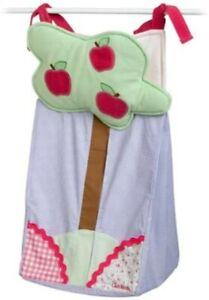 Oshkosh Baby DIAPER STACKER ~ Apple Hill Pink Purple Green Gingham