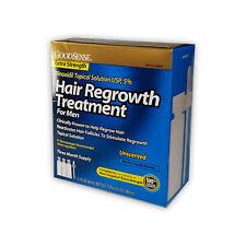 GoodSense Minoxidil Men Topical Solution USP, 5% Hair Regrowth Treatment, 6Fl Oz