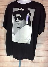 """EASY-E Men's/Youth's """"Straight Outta Compton"""" Black/Gray Tee  Size 2 XL  NEW!"""