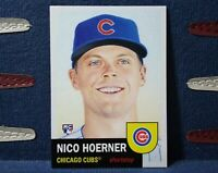 2020 Topps Living Set #310 Nico Hoerner RC Rookie SP Chicago Cubs