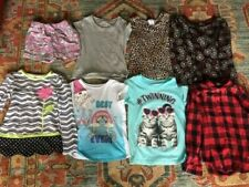 Lot of Children's Clothing Girls 6/6x shirt long short shorts Tee Faded Glory