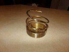 Partylite Brass Spiral Pillar Holder
