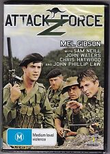 Attack Z Force - DVD (Brand New Sealed) All Regions (Mel Gibson)