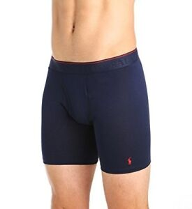 Polo Ralph Lauren Men's Supreme Comfort Long Boxer Brief 2-Pack