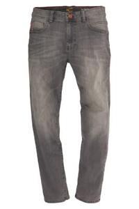 Camel Active Herren Straight Leg Jeans Hose 5-Pocket Houston Denim 488445 9+63