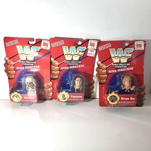WWF RING MASTERS Goldust, Sycho Sid, And Yokozuna WCW WWE MOC Z5