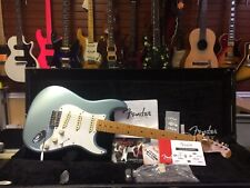 2011 Fender 57 Stratocaster Reissue Electric Guitar USA Turquoise Green 1957